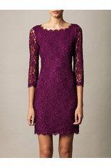 Diane Von Furstenberg Zarita Dress in Purple - Lyst