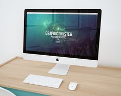 Free Photorealistic iMac Mockup (29.1 MB) | Graphic Twister