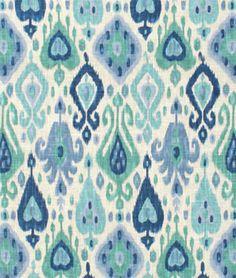 Shop Richloom Django Turquoise Fabric at onlinefabricstore.net for $19/ Yard. Best Price & Service.