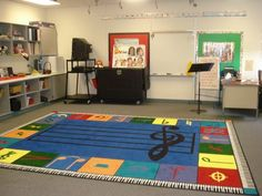 Awesome rug for teaching