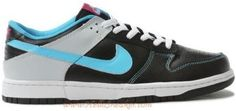 http://www.asneakers4u.com 318019 041 Nike Dunk Low White Black Blue Purple K03102