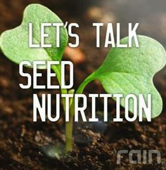 Then it's no surprise that science has found that seeds are the most concentrated form of nutrition in nature. Rain International is the first company to integrate the potency of seedbased nutrition across all its products. Rain International, Natural Cures, Feel Good, Health And Wellness, The Cure, Seeds, Nutrition, Science, Let It Be