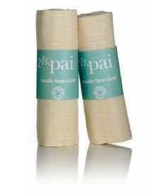 Muslin Face Cloth By Pai Skincare This washable, Organic Muslin cotton cloth has a gentle exfoliating action on the skin. Coconut Oil For Skin, Organic Coconut Oil, Organic Skin Care, Natural Skin Care, Pai Skincare, Exfoliating Gloves, How To Exfoliate Skin, Beauty Tips