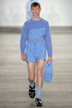 Fashion East Spring 2020 Menswear Fashion Show - Men's style, accessories, mens fashion trends 2020 Men's Fashion, Fashion Show, Fashion East, Abercrombie Men, Red Wing Boots, La Mode Masculine, Beard Styles For Men, Girly, Summer Trends