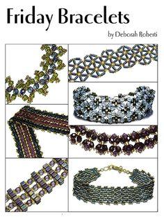 Friday Bracelets E-Book   Bead-Patterns.com
