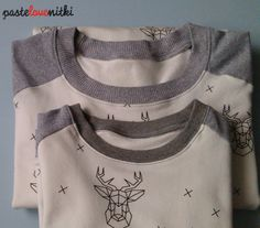 Bluza dla taty i syna. Outfit for Dad and Babyboy.