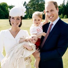 Princess Charlotte Is a Natural With the Camera in First Official Christening Portraits