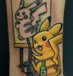 A guy went to his local tattoo shop to get a regrettable Pokémon tattoo fixed and the results are better than any fully thought-out tattoo ever could have been.
