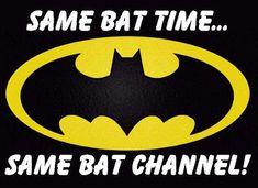 same bat time same bat channel - Google Search