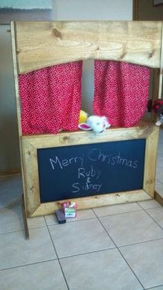 Puppet theater | Do It Yourself Home Projects from Ana White. Lemon aid stand?