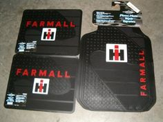 International Harvester Ih Farmall Floormats : Amazon.com : Automotive