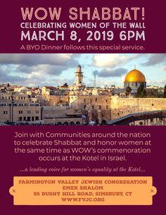 Home - Farmington Valley Jewish Congregation, Emek Shalom Slalom, Cycling Events, Life Cycles, Equality, Community, Wall, Women, Social Equality, Walls