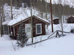 Henrichs cabin winter 2017 Bonanza, Colorado