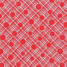 Vintage Florals - Babs in Red