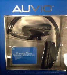 Auvio Concert Experience Headphones 3300090 #Auvio