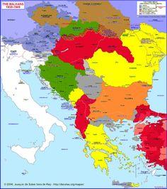 Balkans 1945