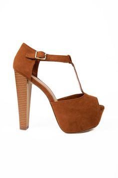 Brina Platform Heels $39 at www.tobi.com