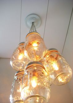 Thinking about roping my brother into helping with this DIY light fixture.