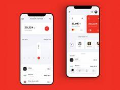 Alfa-Bank App by Stas Aristov – Mockups.space Alfa-Bank App by Stas Aristov Alfa-Bank App by Stas Aristov Ios App Design, Mobile Ui Design, Web Design, Mobile App Ui, Interface Design, User Interface, Design Layouts, Flat Design, Card Ui