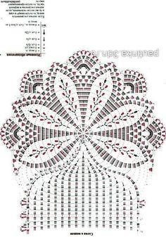 Francis Bauerhuit's 573 media content and analytics Crochet Doily Diagram, Crochet Doily Patterns, Crochet Chart, Thread Crochet, Filet Crochet, Crochet Designs, Crochet Doilies, Crochet Flowers, Crochet Lace