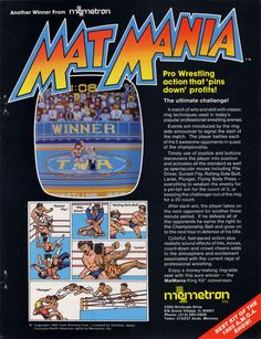 Mat Mania Video Game