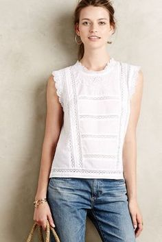 Harlyn Efa Lace Top #anthrofave