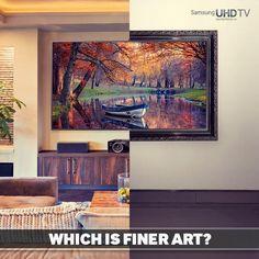 Samsung UltraHD 4K television Via Twitter