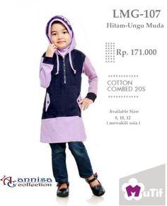 Jual beli Baju Little Mutif Girl Model LMG-107 Ungu Muda di Lapak Aprilia  Wati ea22e2dc9a