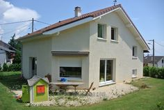 Ref. CI-1789 - ANNONCE IMMOBILIERE MAISON INDIVIDUELLE EN VENTE A THOIRY 01710 PAYS DE GEX. Ain, Belle Villa, Shed, Outdoor Structures, Outdoor Decor, Home Decor, Electric Blinds, Underfloor Heating, Couple Room