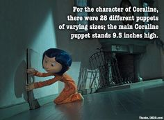 Coraline is the longest stop-motion film to date