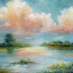 Quiet Spring Canvas Art - Carol Robinson ()