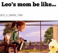 A mãe de Leo é tipo: