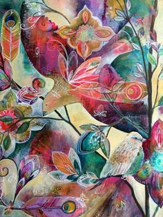 Painting in Progress - Jennifer Currie Famous Art Paintings, Painting Inspiration, Abstract Art, Illustration Art, Canvas, Creative, Artist, Artwork, 4x4