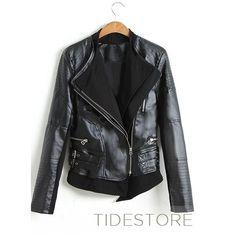 Splendid Slim Cortex Leather Short Jacket