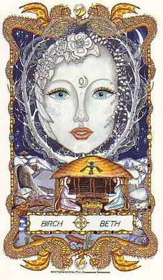 ✯ The Faces of WomanSpirit ..  A Celtic Oracle of Avalon .. Birch moon teaches of potentials that stretch before you. She reflects the possibilities. Birch's essence is to create, bring together dreams and prepare for the new patterns of living. Understand Her. Use the lessons of the moon mothers you have already embraced... look at the bigger picture, listen and unfold your plans through creative visualization. ✯