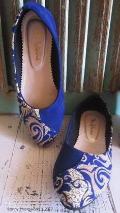 sepatu etnik, ethnic shoes, the warna