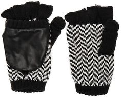 Shop Now - >  https://api.shopstyle.com/action/apiVisitRetailer?id=602687864&pid=uid6996-25233114-59 Plush Herringbone Texting Mittens  ...