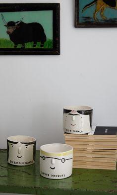 Artist pot - hockney - Plümo Ltd