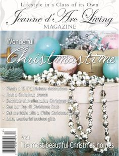 Jeanne d'Arc Living magazine DECEMBER 2015