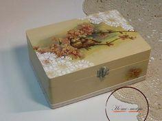 Ékszertartó doboz - Madárkák, Dekoráció, Otthon, lakberendezés, Dísz, Tárolóeszköz, Meska