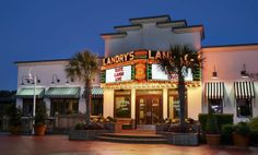 Landry's Seafood specializes in Gulf Coast seafood dishes, a unique wine list, and happy hour drinks and apps. Located at Broadway at the Beach, Landry's is close to area hotels and hotspots and is a great place to unwind after a day of shopping, golfing, or playing at the beach.