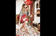"Stussy women Spring/Summer 2013 ""She Was Born In California"" with Valerie Phillips. #stussy #Valeriephillips"