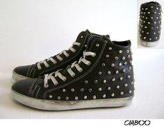 Sneakers CIABOO Donna - Grigio Borchie Borchiato