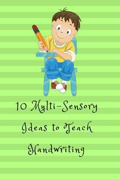 Handwriting is a very complicated sensory activity. Letter formation, spacing, proper regard for the writing line are all difficult if you have fine motor difficulties. #handwriting, #kids #finemotor #activities #parenting #tactile #sensory #multisensory #homeschool #homeschooling #teaching #educational #occupationaltherapy