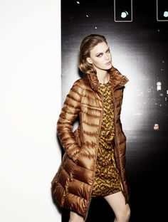 padded coat Vento, dress Falasco