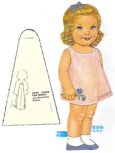 Paper Dolls~Two Little Girls - Bonnie Jones - Picasa Web Albums