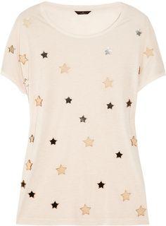 Mulberry   Effie Star-embellished Jersey T-shirt
