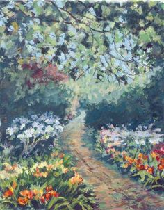 How to Paint Gardens in Gouache | Features | Painters Online