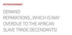 Reparations For Slavery, Decendants, Math, Math Resources, Mathematics