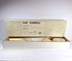 ﹩251.99. Rare Discontinued Flair Hannibal Radio Control (R/C) Airplane Flying Model Kit    Type - Warbird, Color - Multi-Color, Material - Wood,